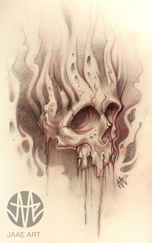 skull dark