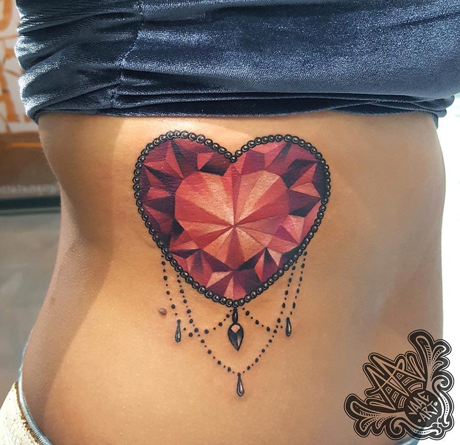 diamante-corazón