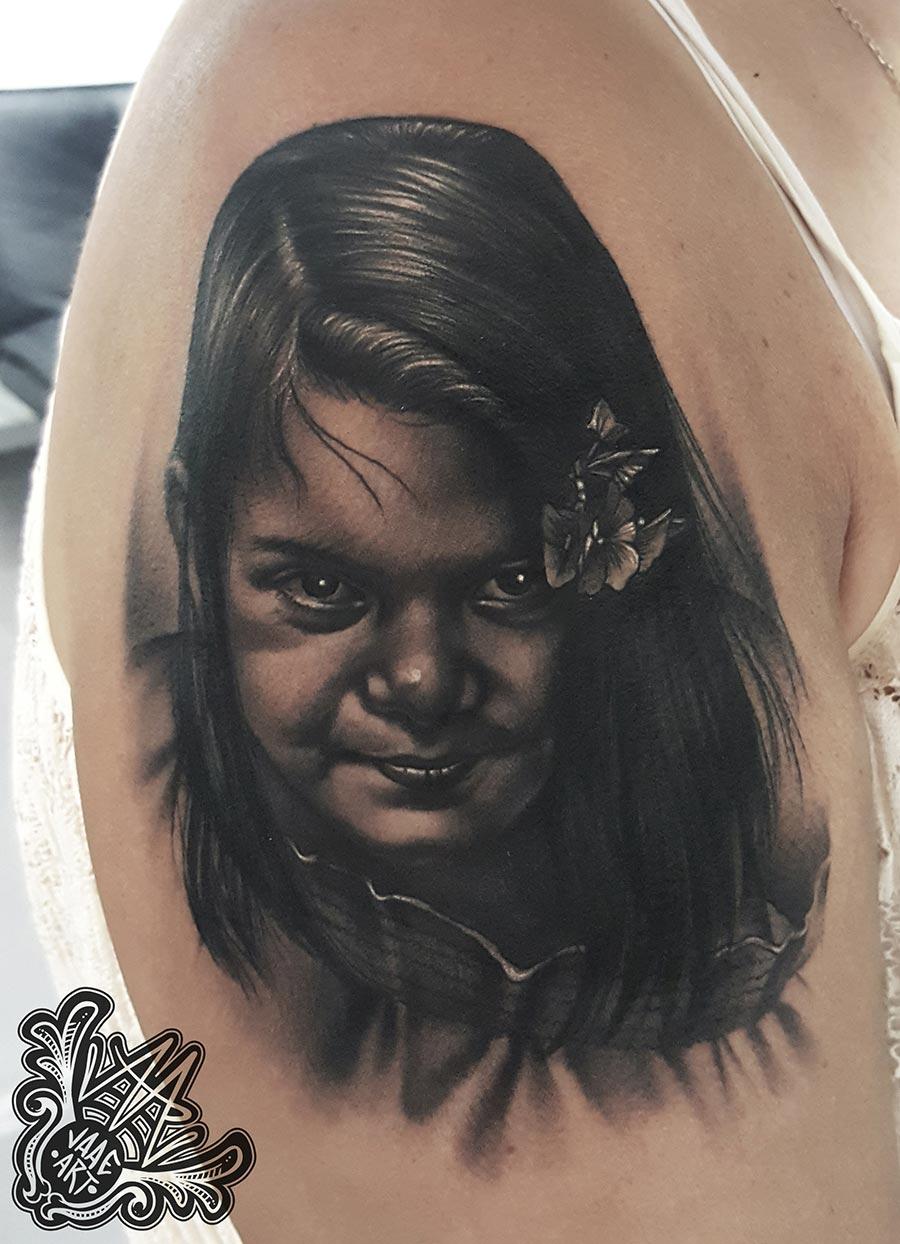 niña-retrato