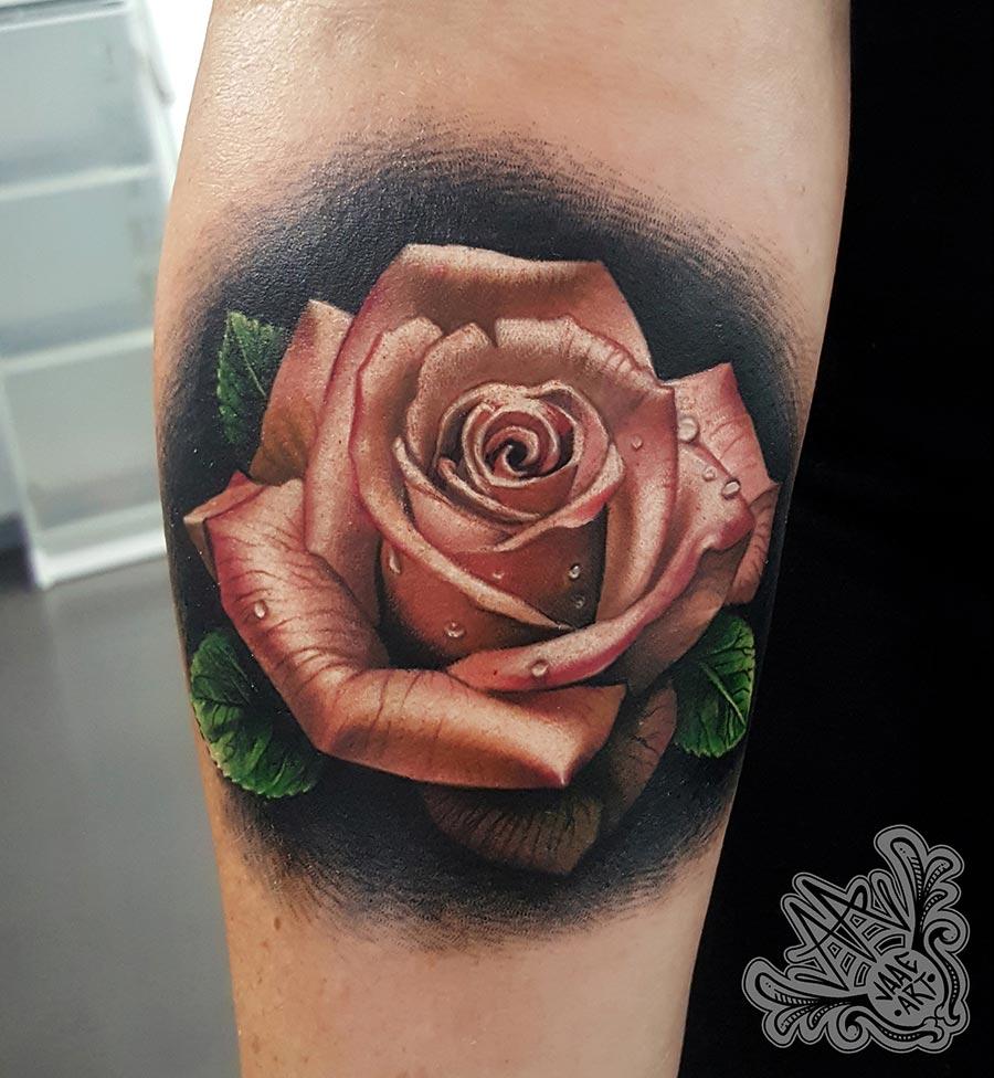 Rosa-realista-color