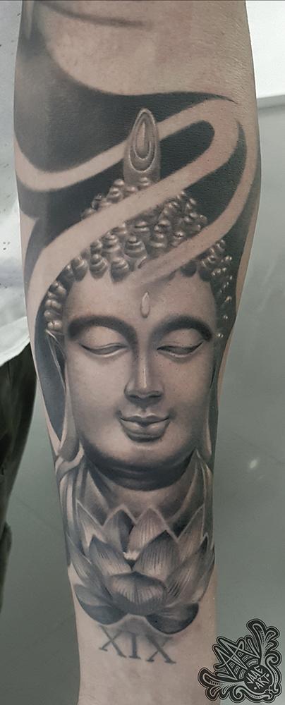 buda-escultura-loto-flower