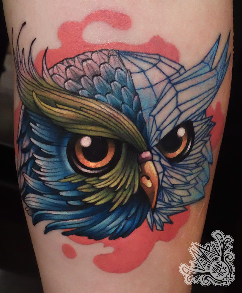 newschool-owltattoo-buhotattoo-buho-fullcolor-owl-3d-malla3d-ilutracion-illustration-illustrationtattoo
