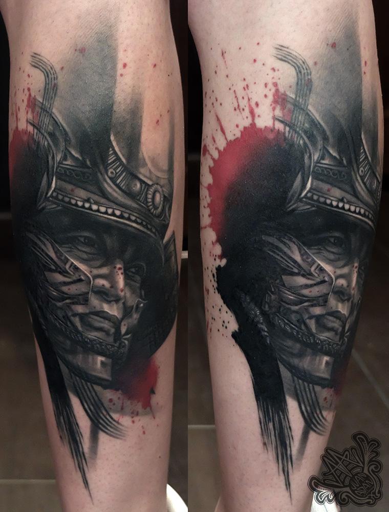 -samurai-trashpolka-samuraitattoo-realistictattoo-tenerifetattoo-canaryislandstattoo-tatuajeislascanarias-tatuajetenerife-tatuadortenerife-mejorestatuadoresespaña
