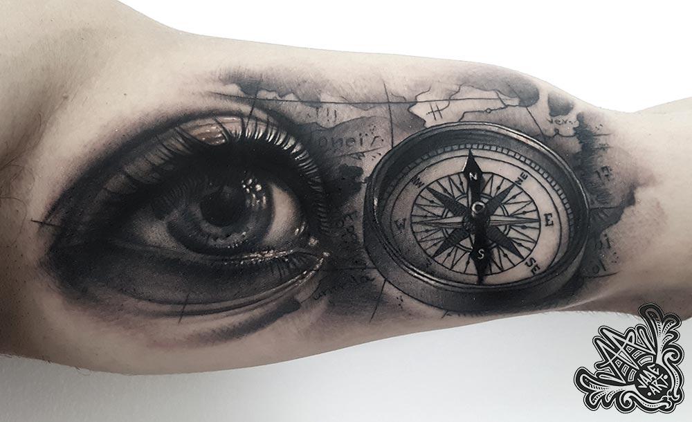 ojo-brujula-mapa-eye-compass-map