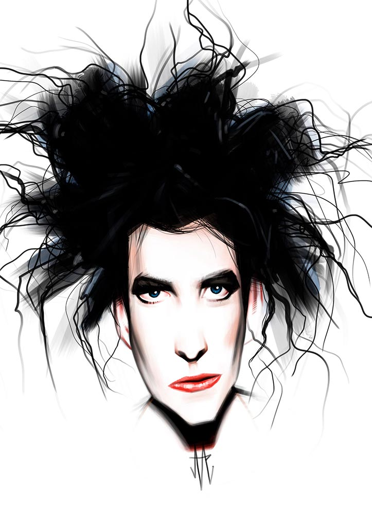robertsmith-thecure-illustration-caricature