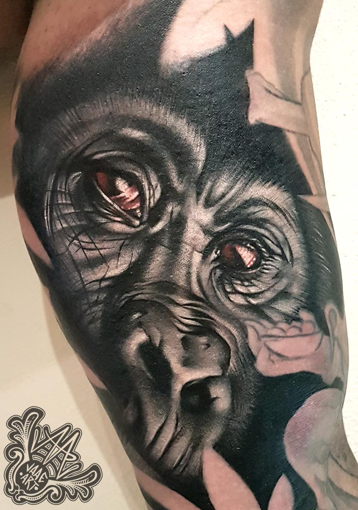 gorila-realistic-gorilla