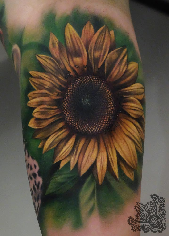 girasol-sunflower-girasoltattoo-sunflowertattoo-flowertattoo