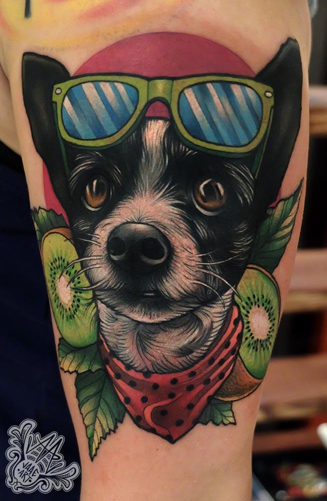 kiwi-retrato-portrait-dog-dogportrait-neotradicional-neotraditional
